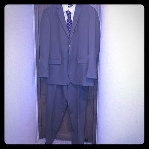 Grey 2 pc suit